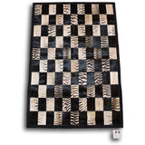 Zebra Rug 3'9x 5'4 #9 - Trophy Room Collection
