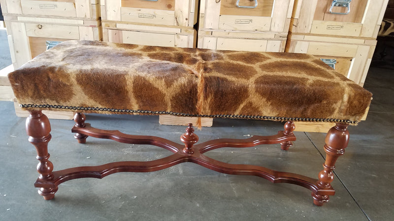 Giraffe Bench - Trophy Room Collection