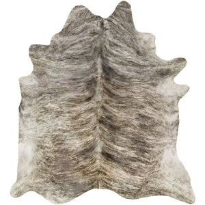 COWHIDE - Natural Light Brindle - Trophy Room Collection