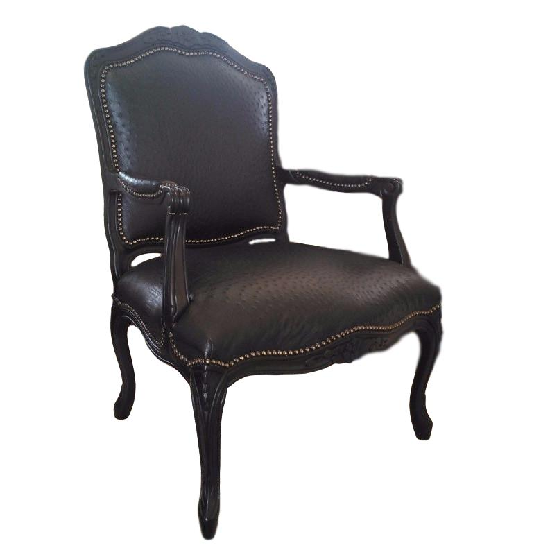 Carved Victorian Ostrich Chair - Trophy Room Collection