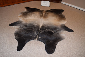 Natural Grey Cowhide