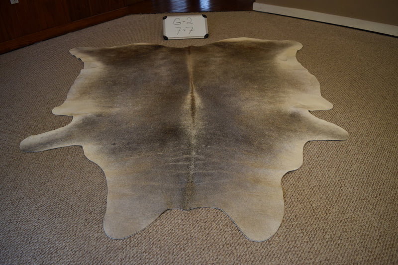 Natural Gray Cowhide