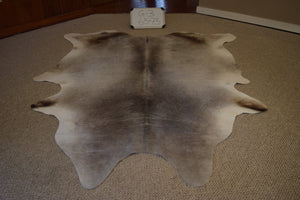 Grey Natural Cowhide