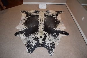 Salt and Pepper Natural Cowhide