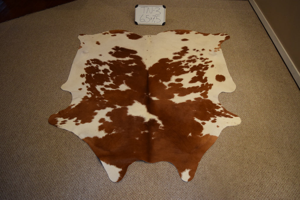 Tan Natural Cowhide
