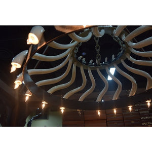 Kudu Bone Chandelier - Trophy Room Collection