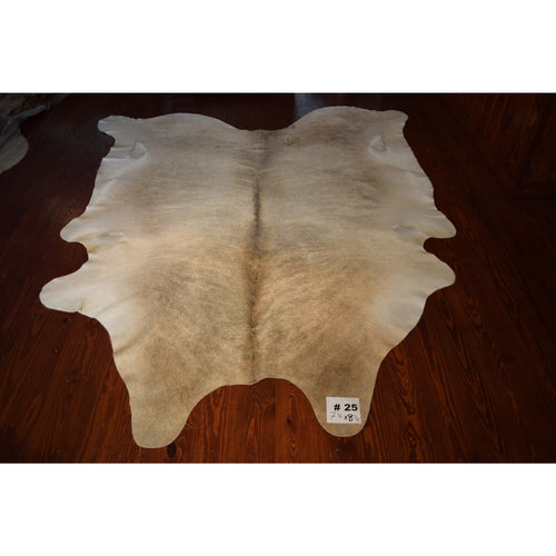 Cowhide #25 (7.5' x 8.5') - Trophy Room Collection