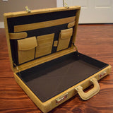 Ostrich Briefcase- Two Color Options Available! - Trophy Room Collection  - 4