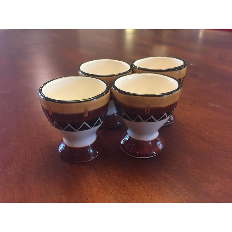 Egg cups Kalahari gold - Trophy Room Collection