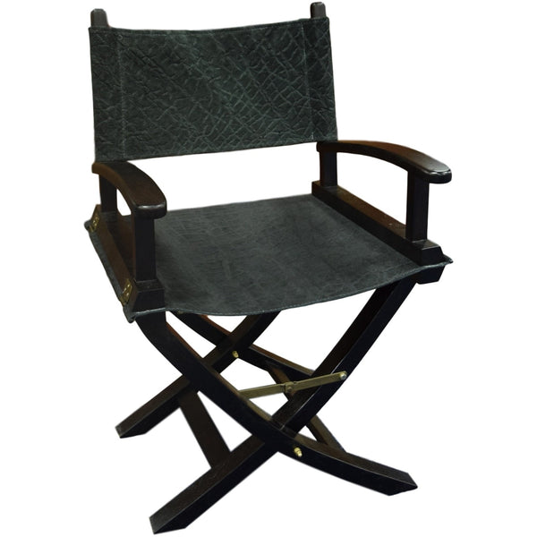 Hemingway chair in Black Elephant - Trophy Room Collection