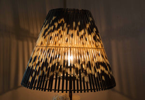 LIGHT SHADE - PORCUPINE QUILL - ROUND LARGE - Trophy Room Collection