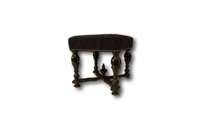STOOL - Genuine Elephant - Trophy Room Collection