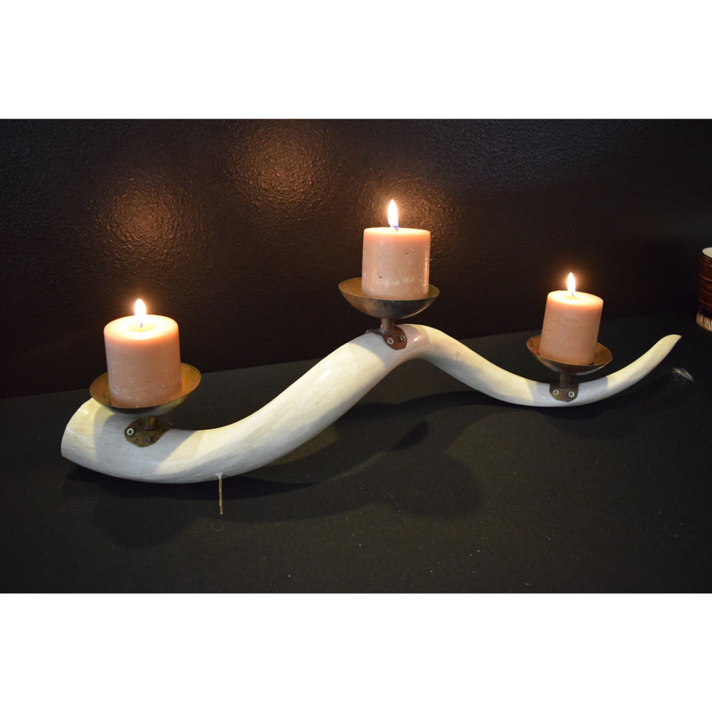 Kudu Bone Candle - Trophy Room Collection