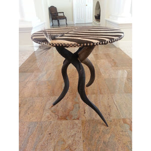 Tripod Kudu Table - Trophy Room Collection