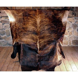 Dark Brindle Cowhide - Trophy Room Collection