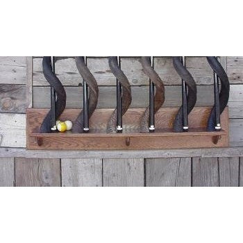 6 CUE WALL MOUNT BASE - Trophy Room Collection