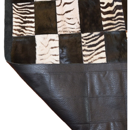 XL Long Zebra Runner 2'9 x 10'7 - Trophy Room Collection