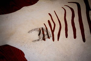 COWHIDE - Zebra Stencil (ST5) - Trophy Room Collection