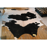 Black and White Cowhide Natural - Trophy Room Collection