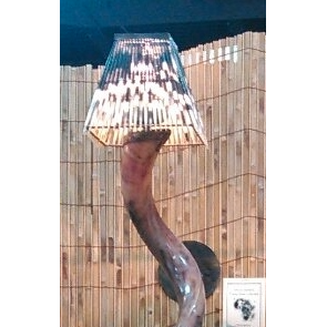 LIGHT SHADE - PORCUPINE - SQUARE SMALL - Trophy Room Collection  - 3