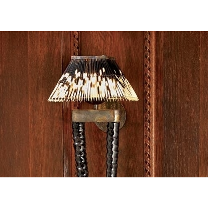 LIGHT SHADE - PORCUPINE - RECTANGLE - Trophy Room Collection  - 2