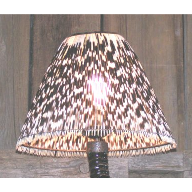 LIGHT SHADE - PORCUPINE - ROUND LARGE - Trophy Room Collection
