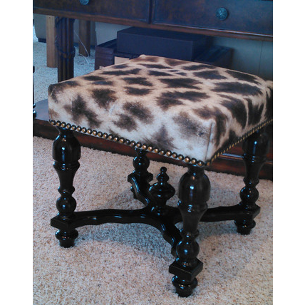 Customer's Own Material Stool - Trophy Room Collection  - 4