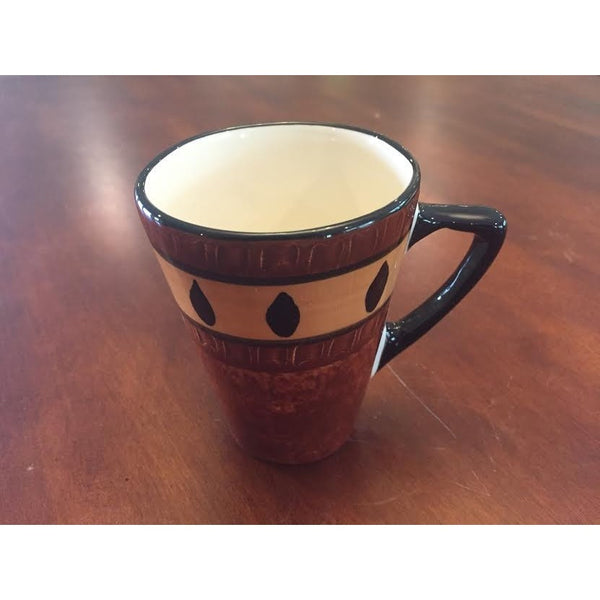 Small mug zebra combo bark - Trophy Room Collection