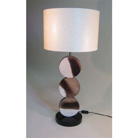 Springbok Circle Lamp & Beaten Shade - Trophy Room Collection