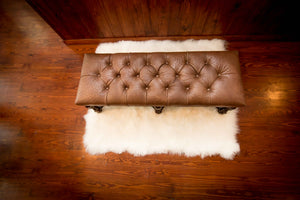 BENCH - Tufted Ostrich - Trophy Room Collection