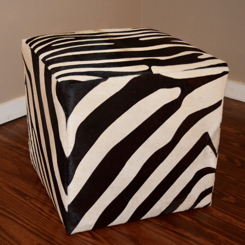 CUBE - Zebra Stenciled - Trophy Room Collection