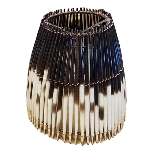 Round Mini Porcupine Quill Lampshade - Trophy Room Collection