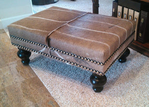 Customer's Own Material - MEDIUM Ottoman - Trophy Room Collection