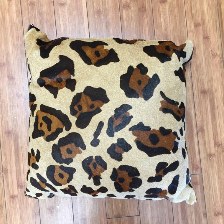 Cowhide Jaguar Stencil w/ Black Backing - Trophy Room Collection