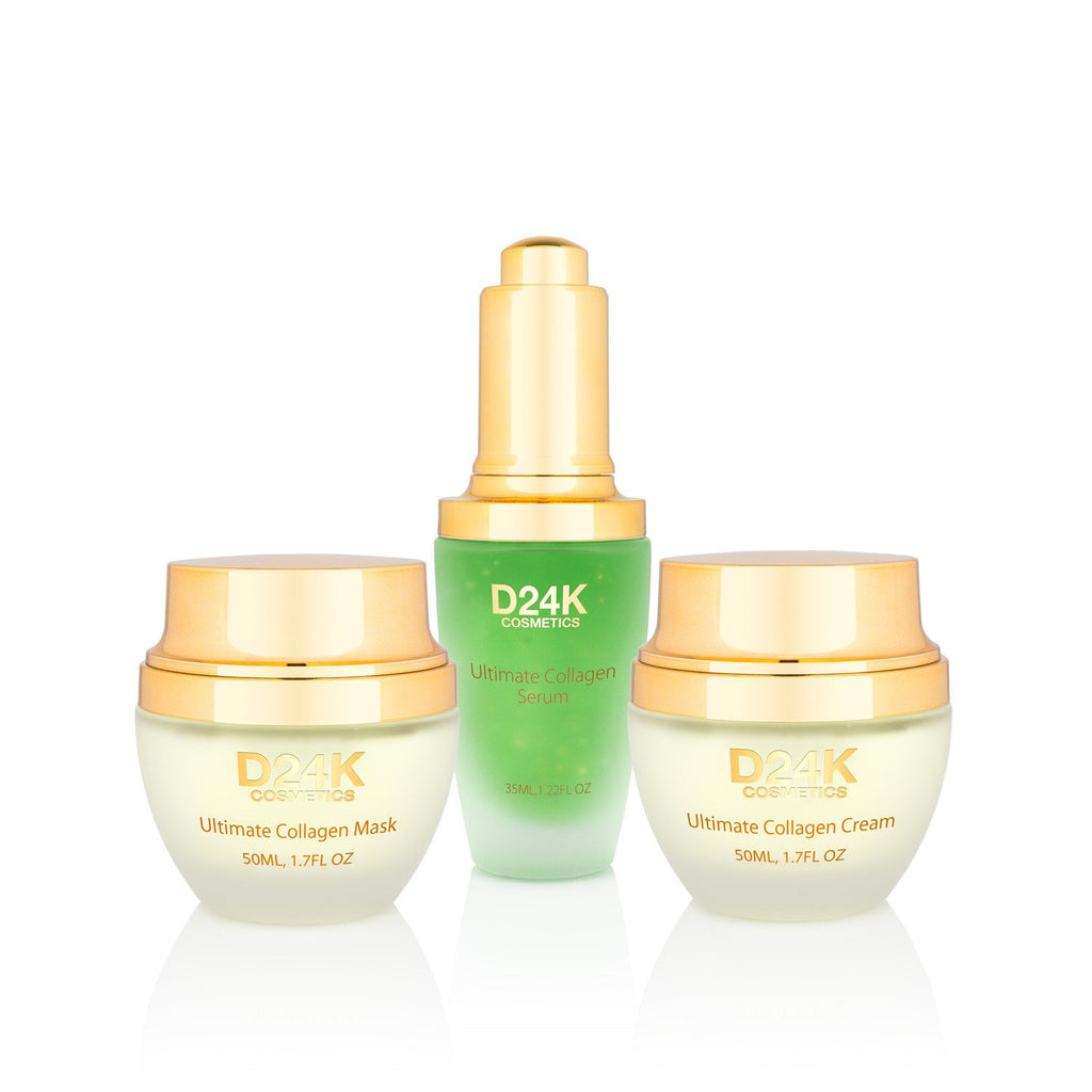 24K Collagen Renewal Set - Ultimate Collagen Cream / Ultimate Collagen Mask / Ultimate Collagen Serum
