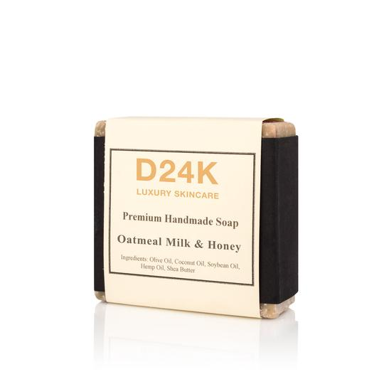 Premium Luxury Handmade Soap - Oatmeal Milk & Honey