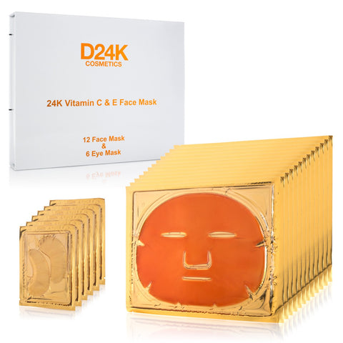 24K DMAE Lifting Set - Mask / Cream / Serum