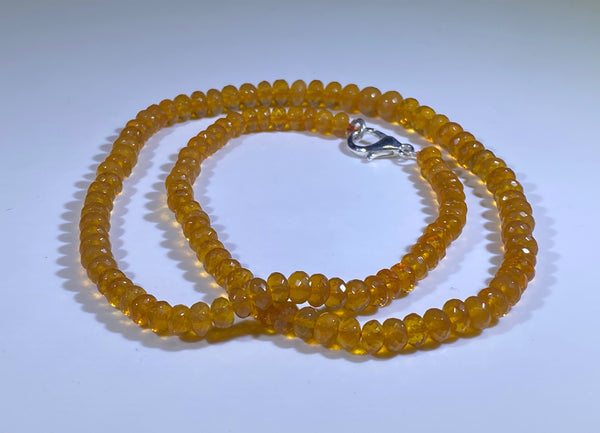78 Carat Oregon Fire Opal Bead Strand