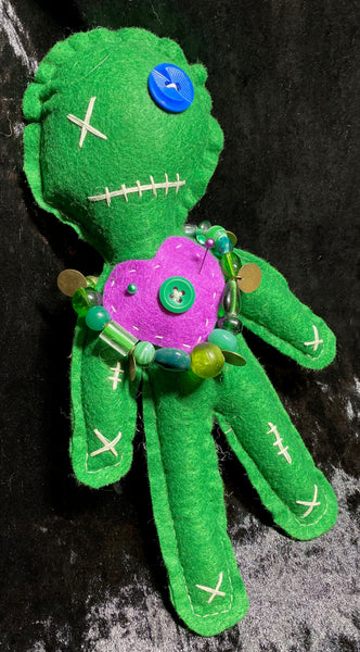 Green Good Karma Doll