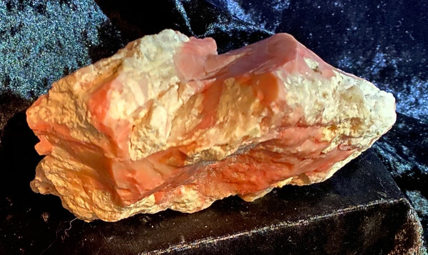 261 Gram Oregon Pink Opal in Rhyolite Matrix Specimen