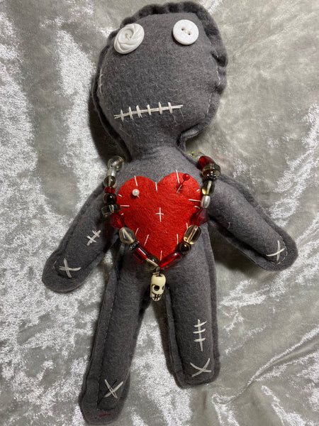 Gray Good Karma Doll