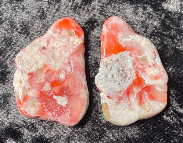 33 Grams of Polished Oregon Pink Opal