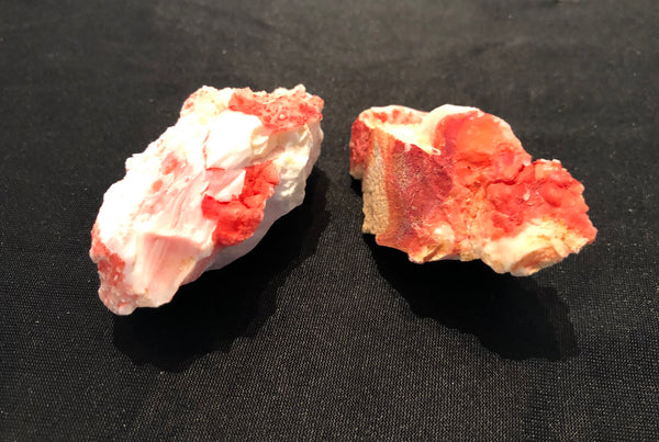 75 Grams of Oregon Red/Pink Opal Rough