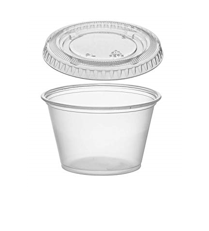 Disposable Sauce Cups and Lids