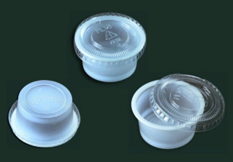 Sauce Cup with Lid SML-0.75A
