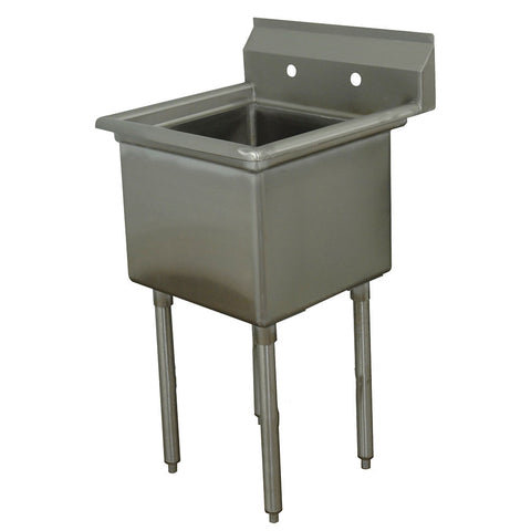 "Single Sink with 16"" x 20"" Bowl SM-S1620"