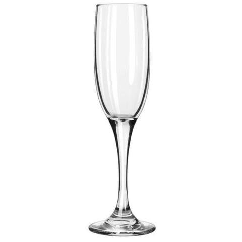 Libbey 3796 6 oz Embassy Royale Tall Flute Glass