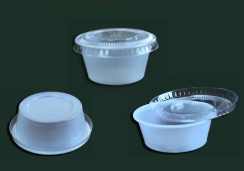 Sauce Cup with Lid SML-1.5A