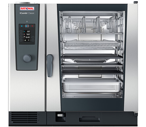 Rational iCombi Classic 10 Pan Full-Size Gas Combi Oven