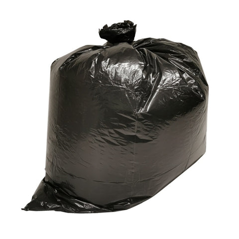 22x24 Black Biodegradable Garbage Bag BAL2224R